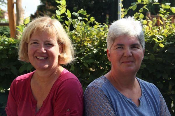 Birgitta Wnninger Hauswirtschaftskraft und Ulla Uhlenbrock Reinigungskraft